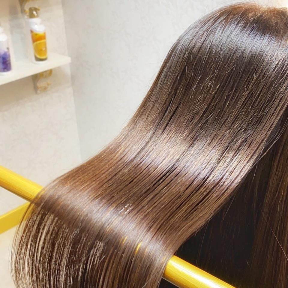 パサつきがちな髪の毛に髪質改善