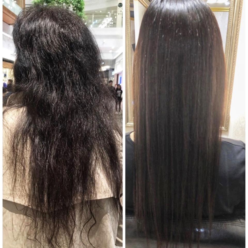 50代 縮毛矯正 髪質改善
