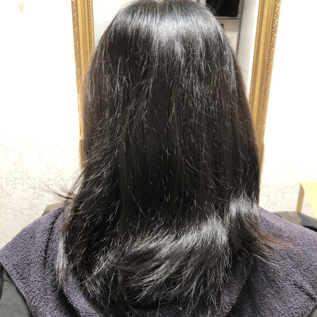 髪の毛 うねり ツヤ 改善