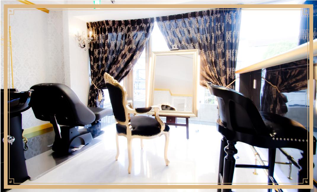 阪急岡本の個室がある美容室