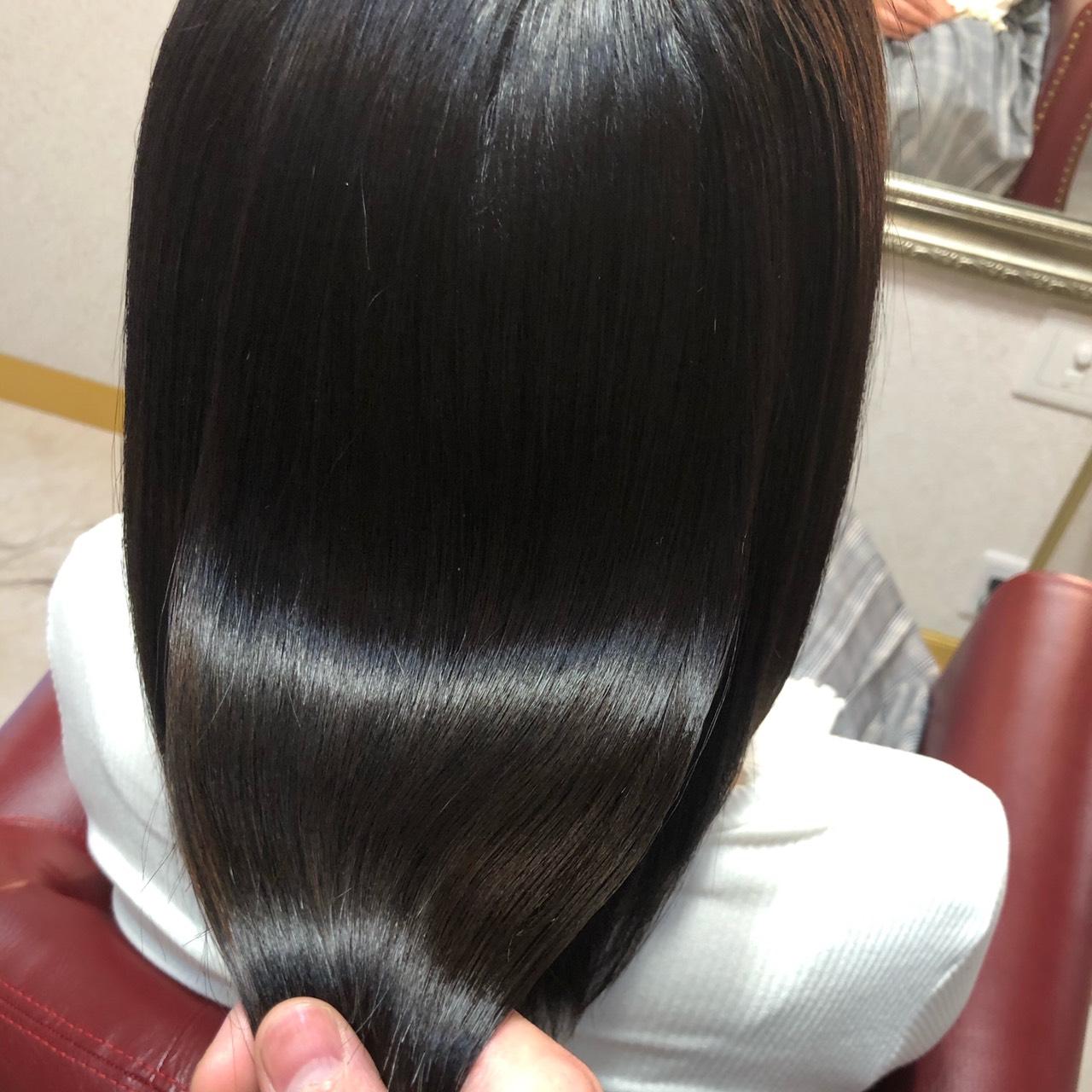 salondeQueenの髪質改善で艶髪チャージ