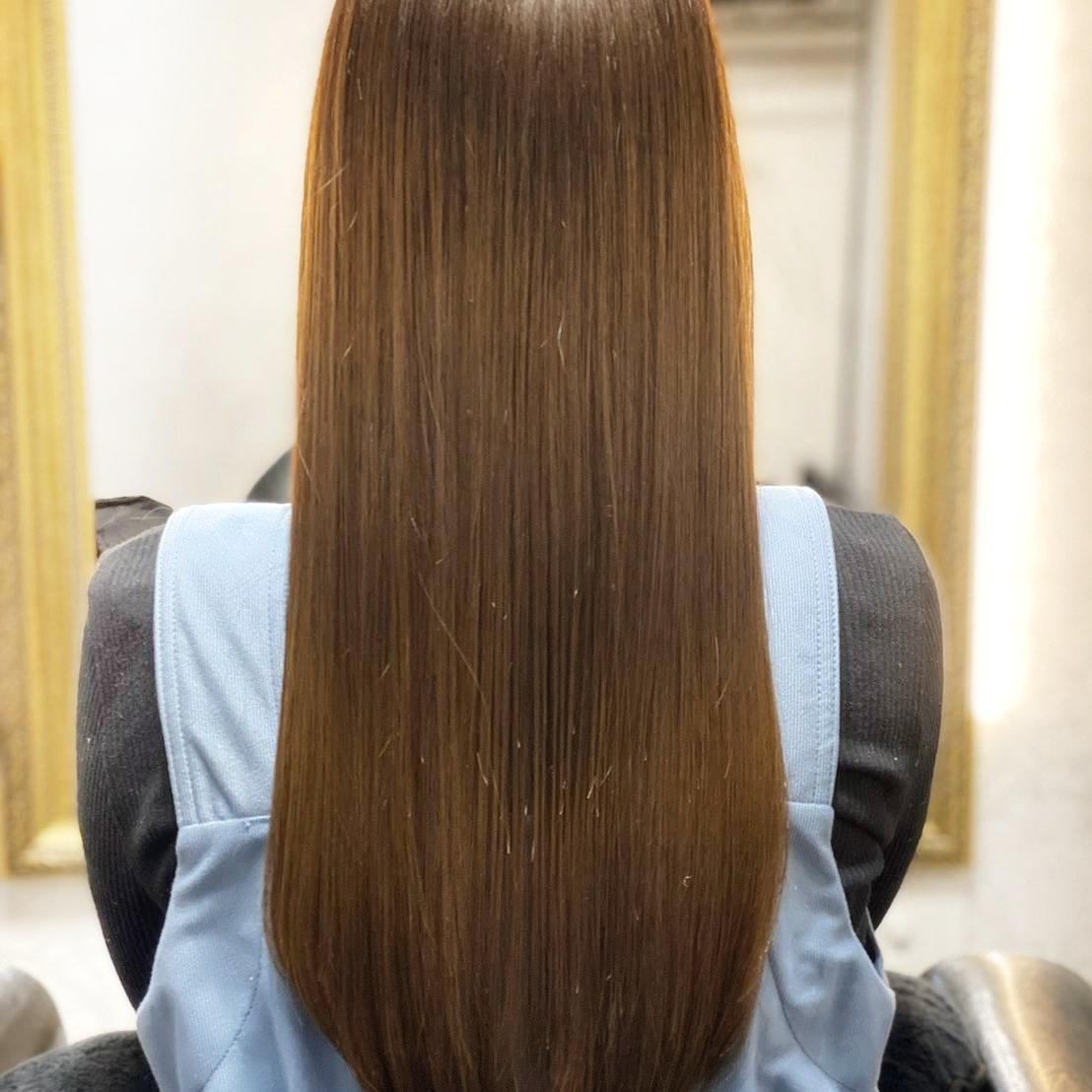 阪急岡本の髪質改善ができる美容室