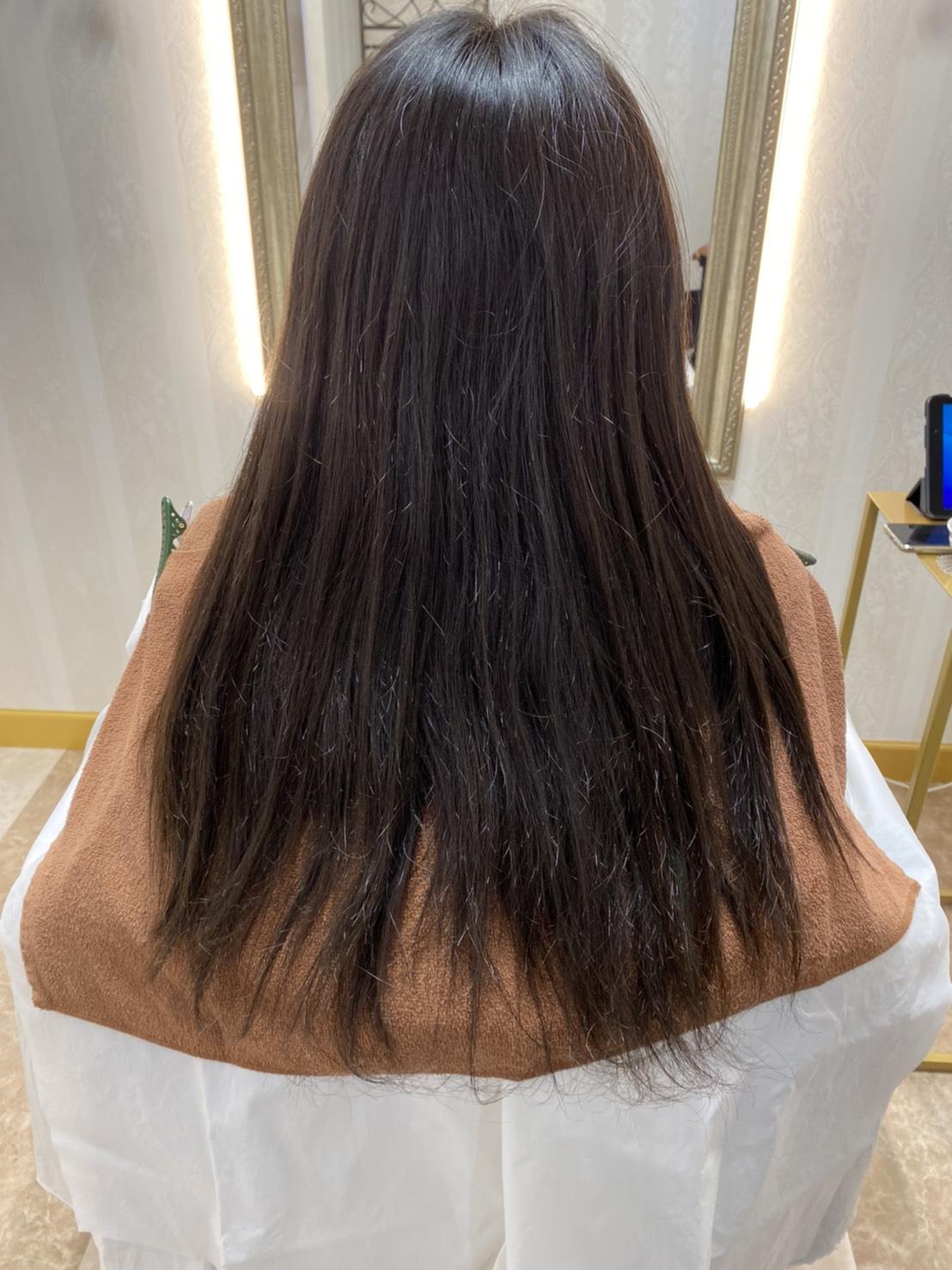 岡本の髪質改善