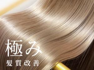 ≪最上級【極】髪質改善≫高橋さんの髪質改善コース